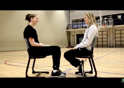 Kim Mestdagh & Emma Meesseman Face Off