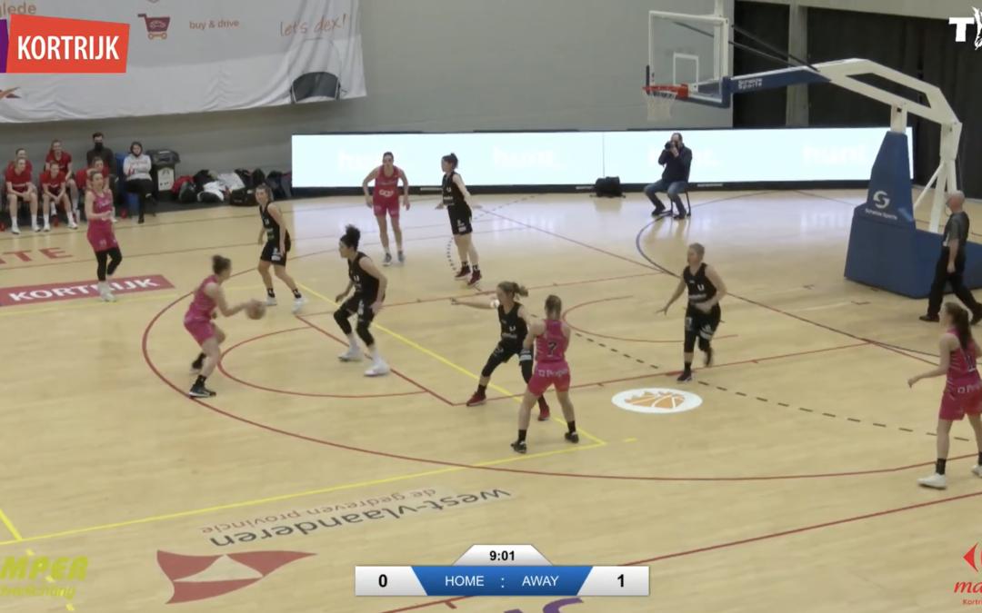 Livestream Basketball Kortrijk Spurs – Liege