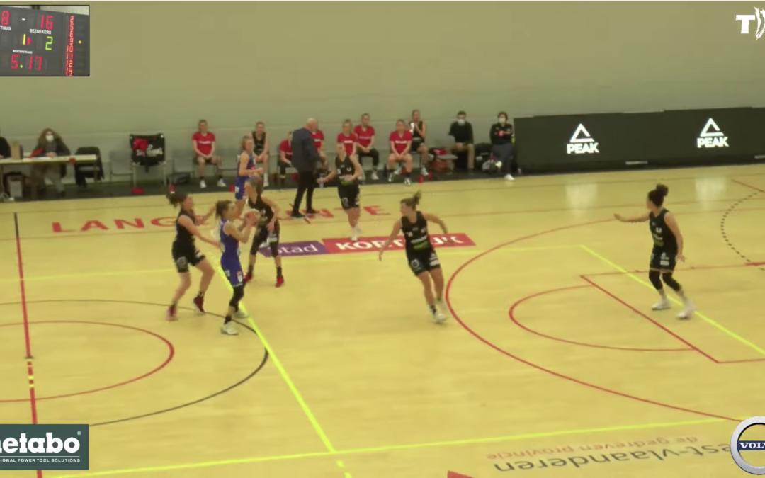 Livestream Basketbal Kortrijk Spurs – Mechelen