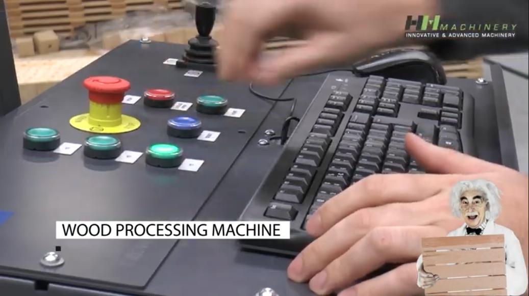 Productvideo palletmachine, Handsaeme Machinery, Izegem (BE)