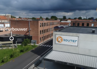 Virtuele rondgang Lage Kouter, Kortrijk (BE)