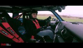 Niko Motors took his Mini for a lap @ Clastres Circuit